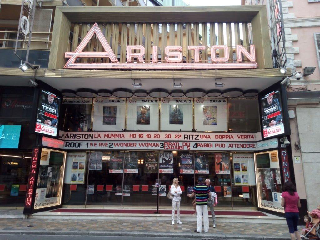 Teatro Ariston, sede del Festival de la Canción de San Remo