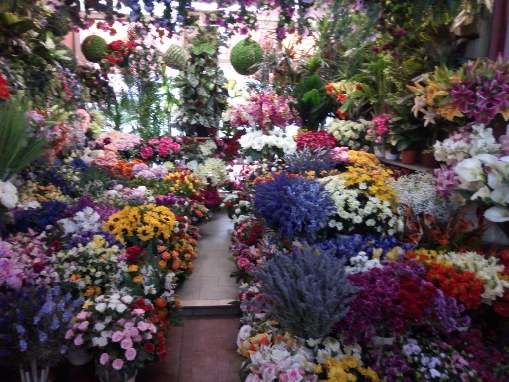 s en el mercado de Bordighera