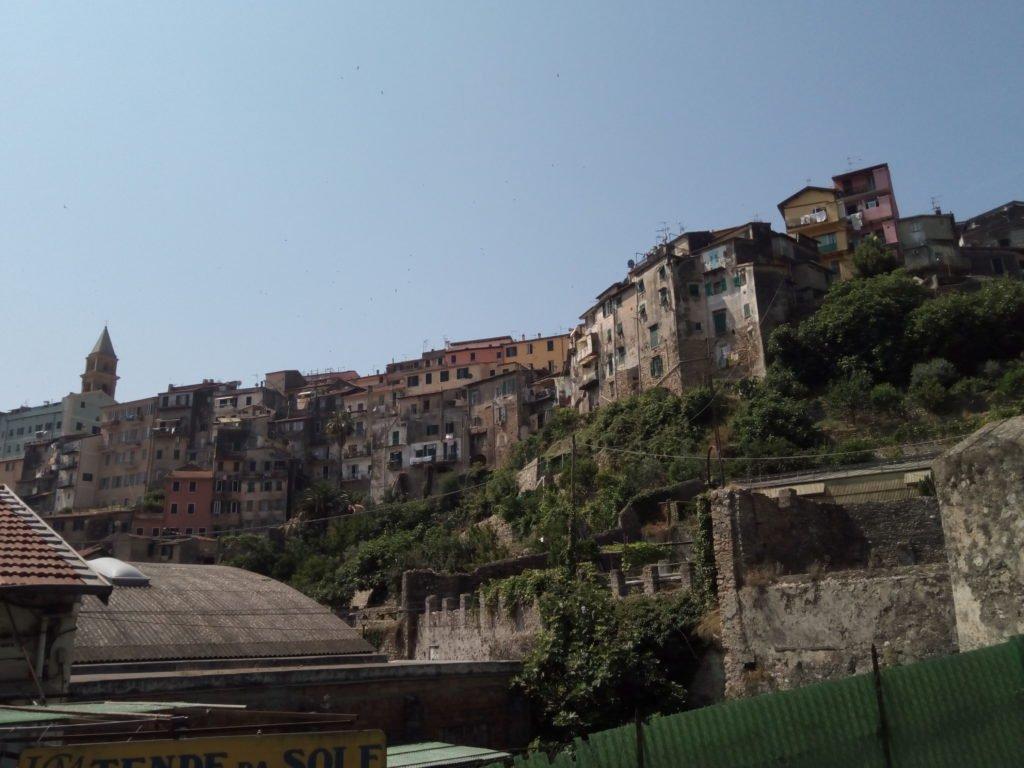 Vista de Ventimiglia