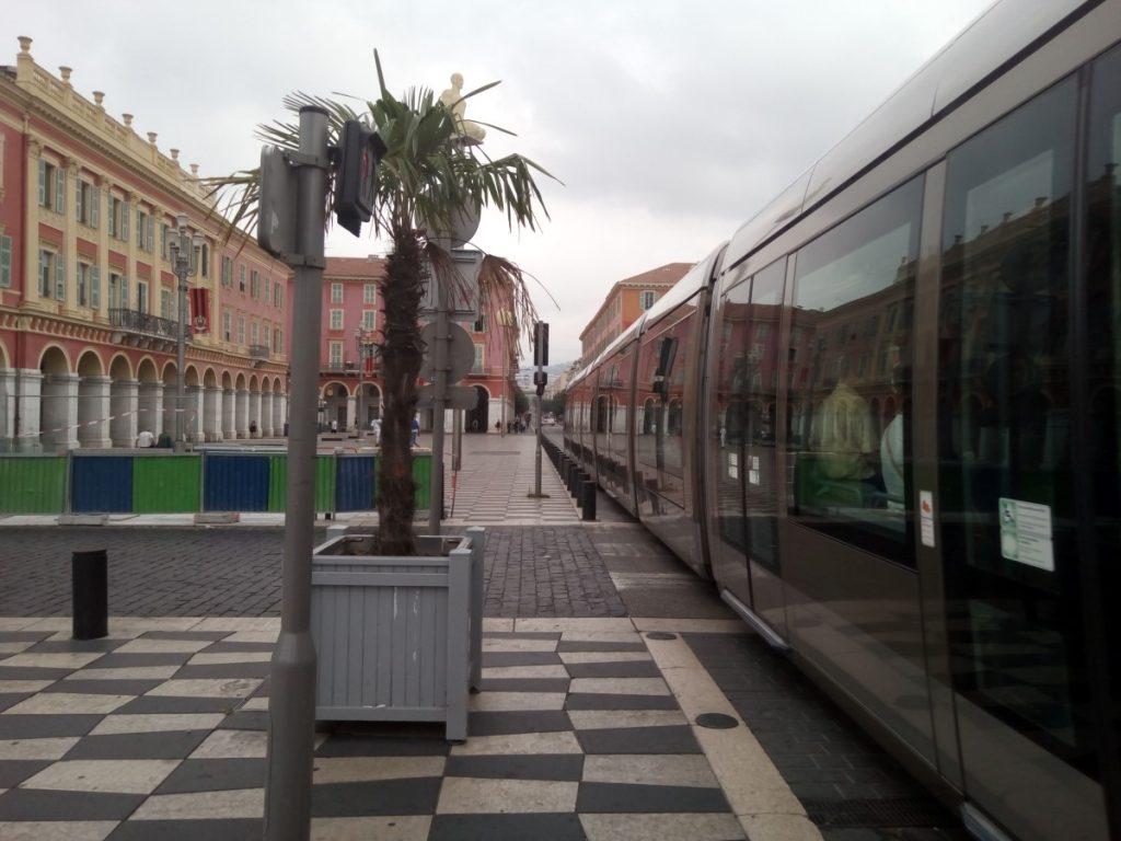 El tranvía de Niza