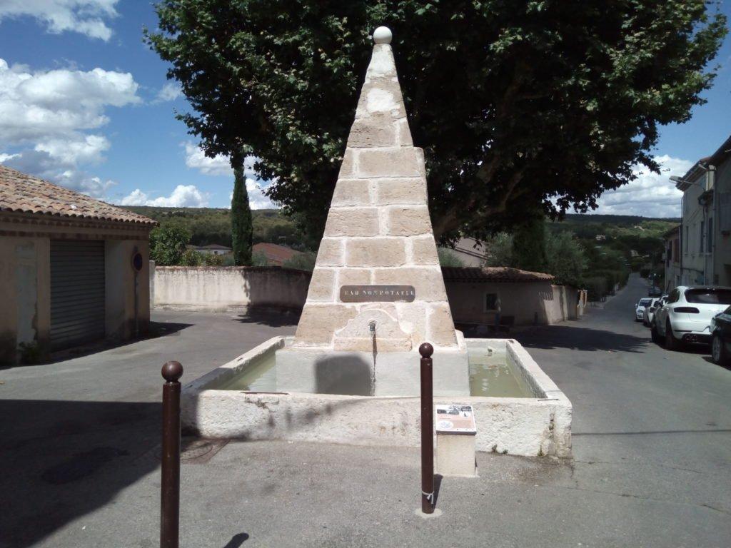 La Pirámide de Marius Caïus, en Pourrieres