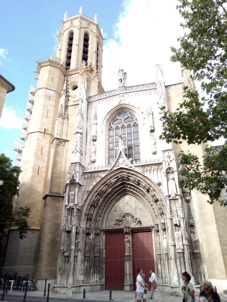 Catedral de Saint-Sauvert. Catedral del Salvador. Aix-en-Provence