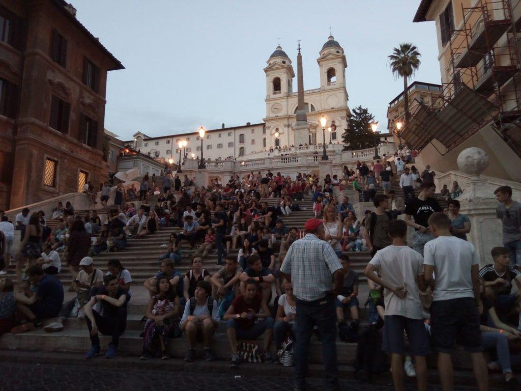 Escalinata de la Plaza de España. Roma