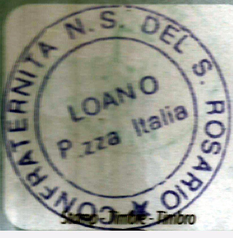 Sello de Loano