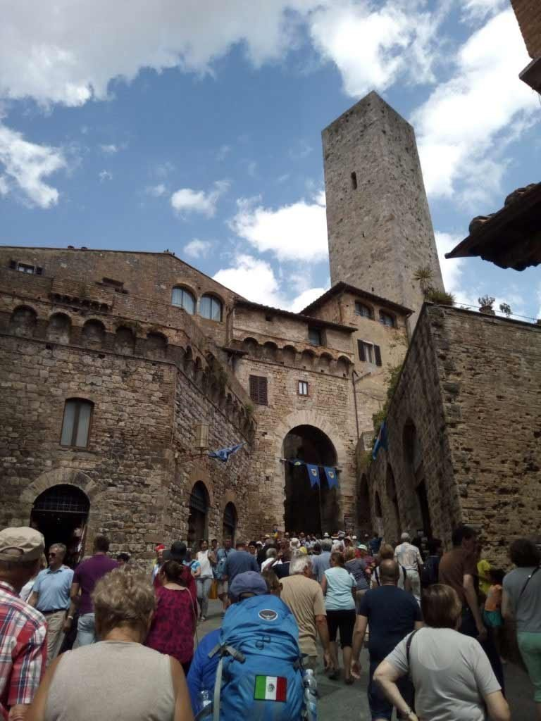 Puerta de entrada a San Gimignano