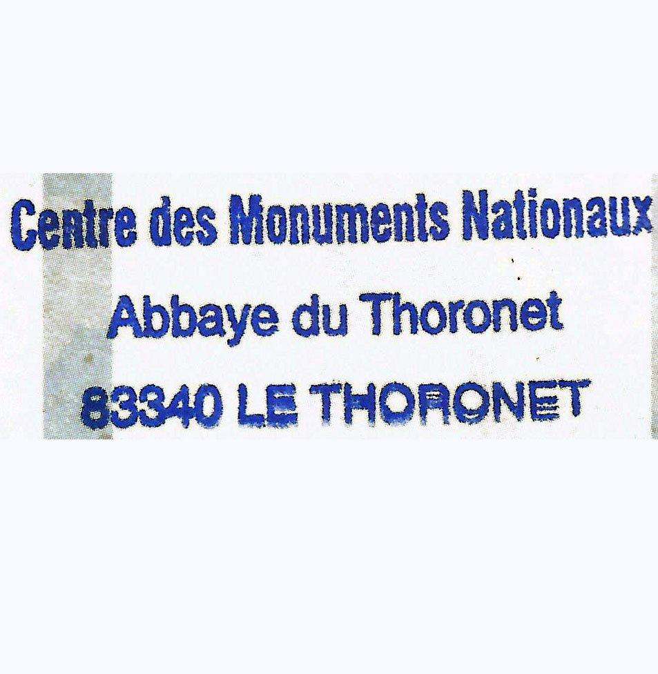Sello de la Abadía de Thoronet