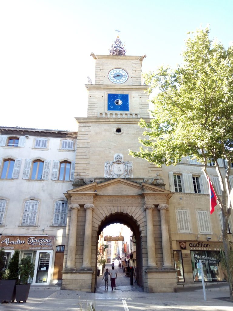 Puerta del Reloj, Porte de l'Horloge. Salon de Provence