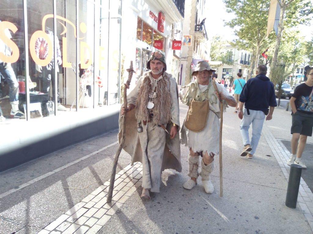 Unos peregrinos de pacotilla