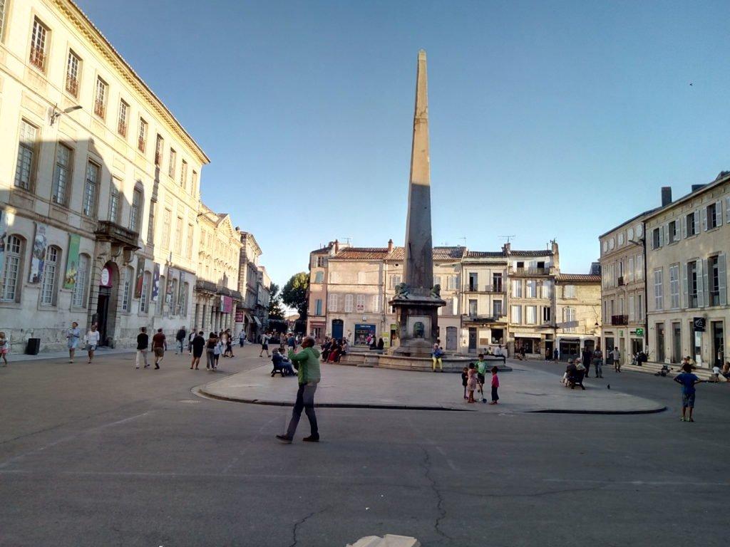 Obelisco de la Plaza de la República