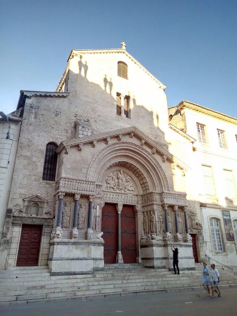 Catedral de San Trófimo. Saint Trophime. Arles