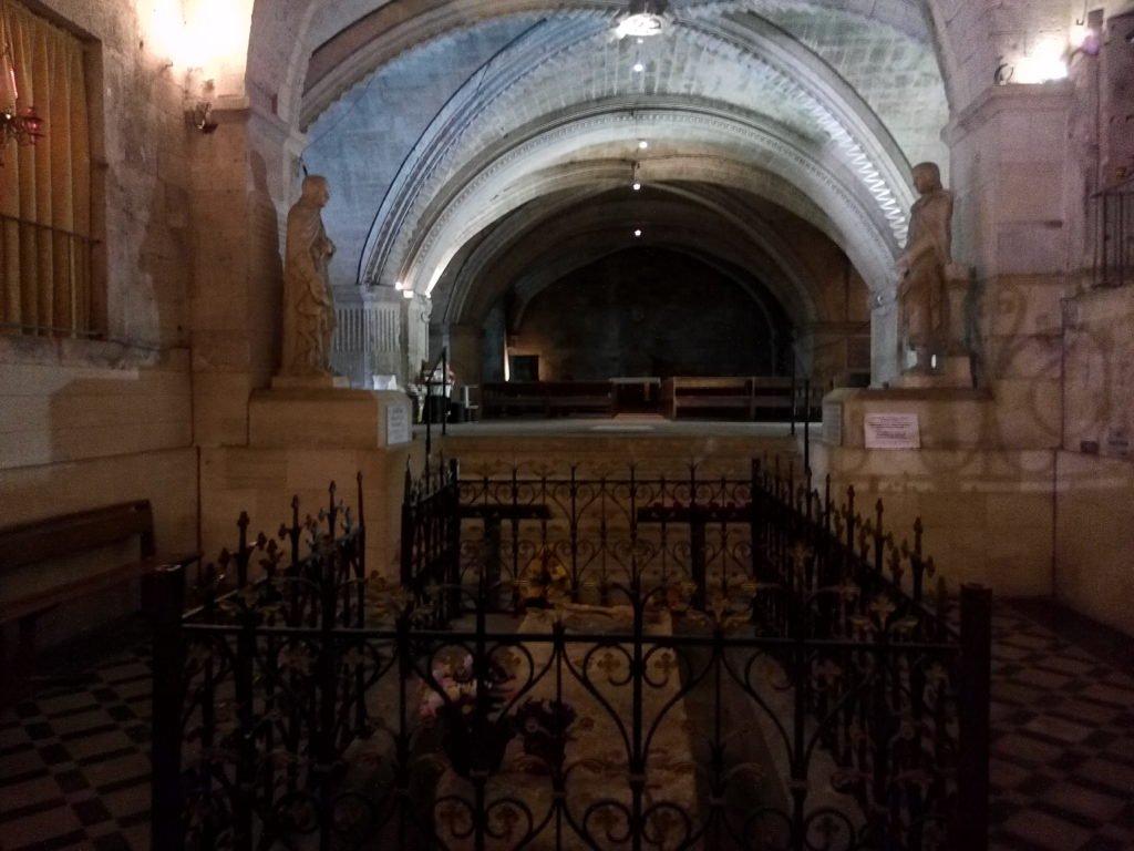 Cripta donde está enterrado San Gil