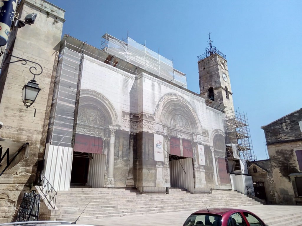 Iglesia de San Gil, en Saint Gilles