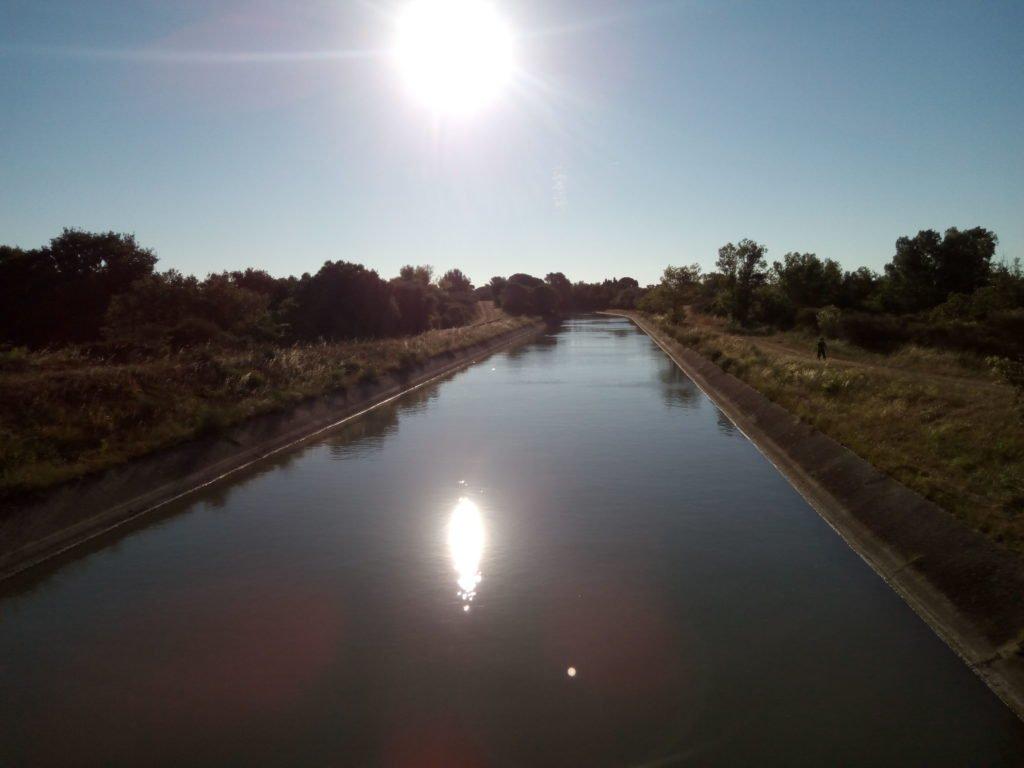 Le canal du Bas-Rhône Languedoc ou canal Philippe-Lamour