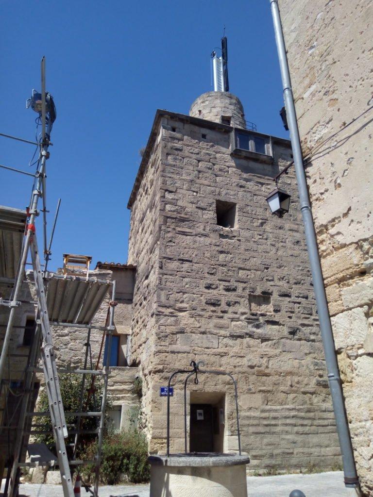 Torre del Telegrafo óptico en Gallargues le Montueux