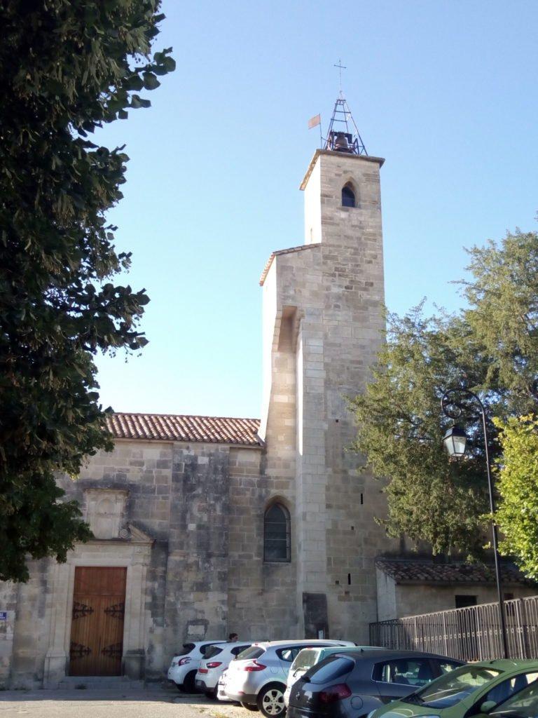 Iglesia de San Martín en Gallargues le Montueux