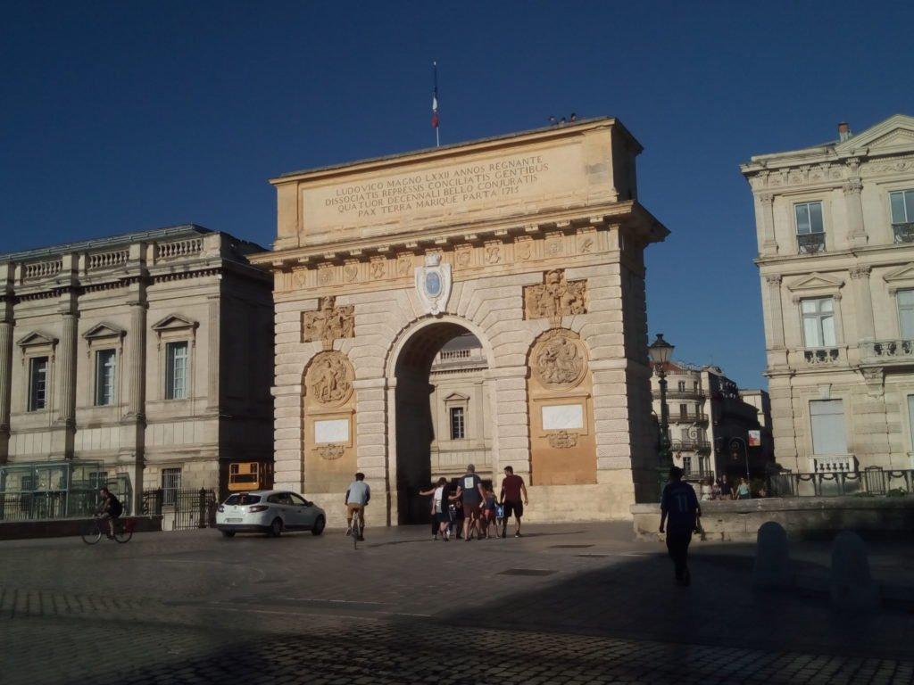 Arco del Triunfo. Montpellier