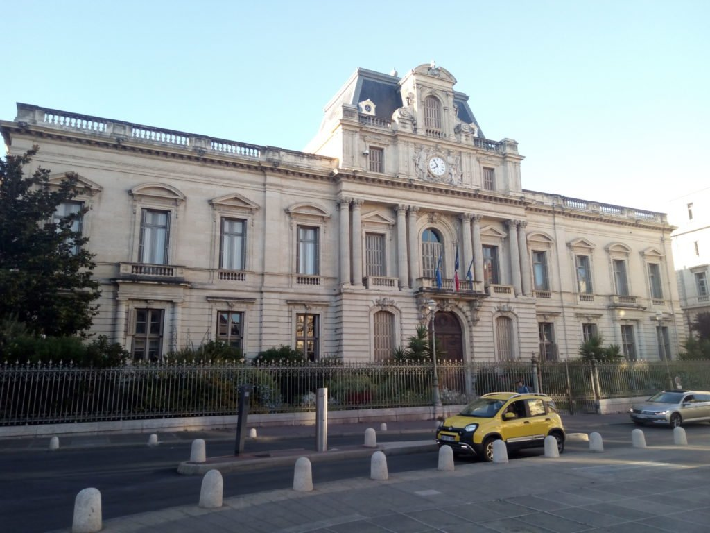Edificio de Prefectura del departamento de Hérault, en Montpellier