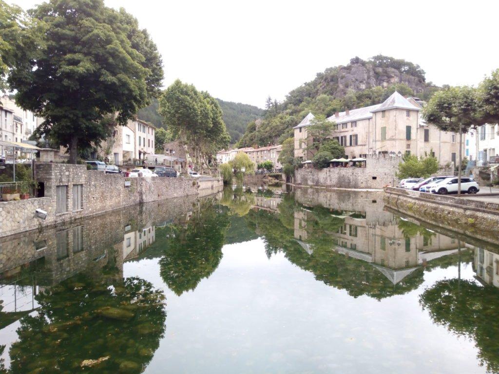 El Río Gravezon, en Lunas