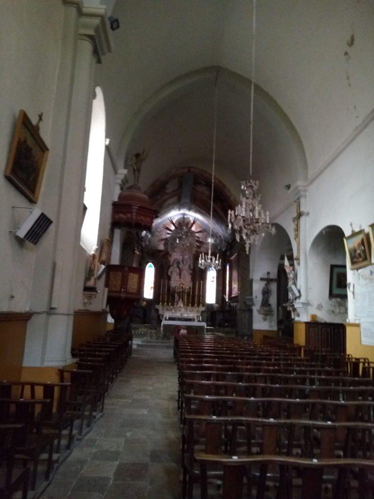 Iglesia de Saint Gervais sur Mare