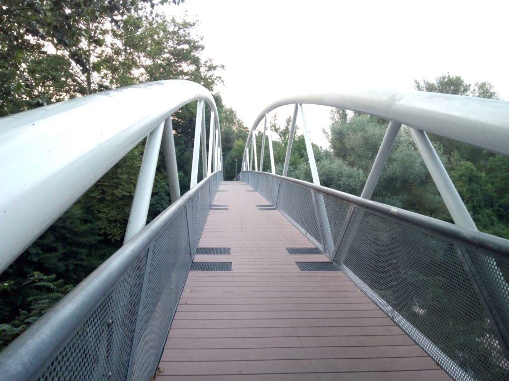 Puente sobre el río Agout, saliendo de Castres