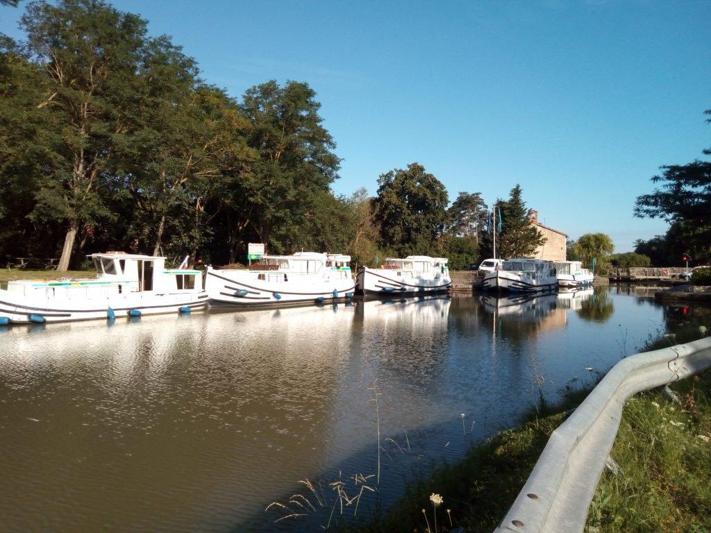 El Canal de Midi es navegable
