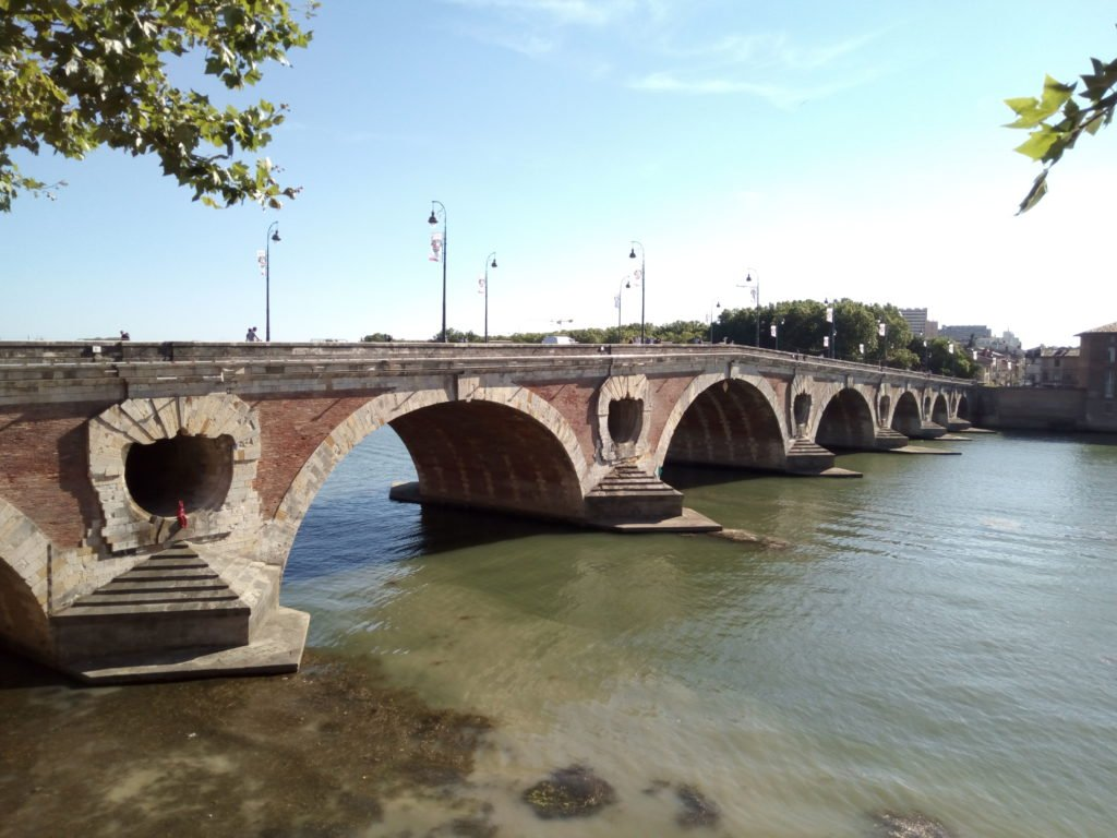 Pont Neuf, Toulouse. Puente Nuevo