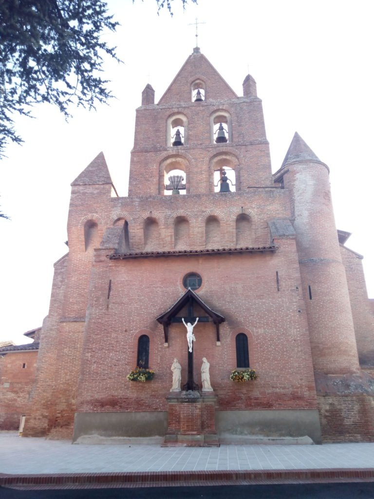 Iglesia de Santa María Magdalena en Pibrac
