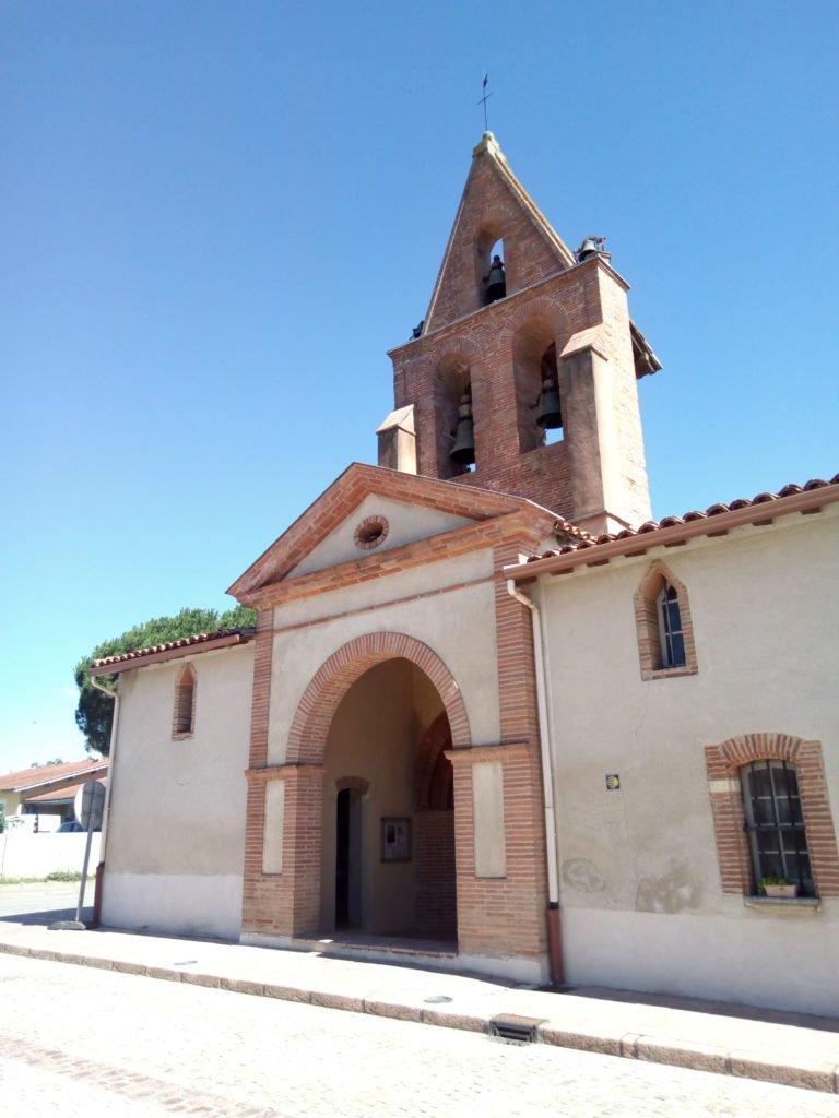 Iglesia de Pujaudran. El 25 de julio de 1982 fue clasificado como monumento histórico.