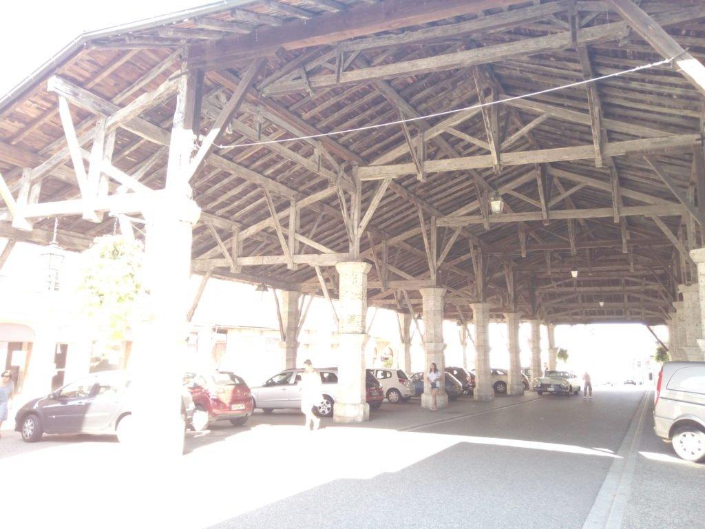 Plaza del Mercado. Gimont