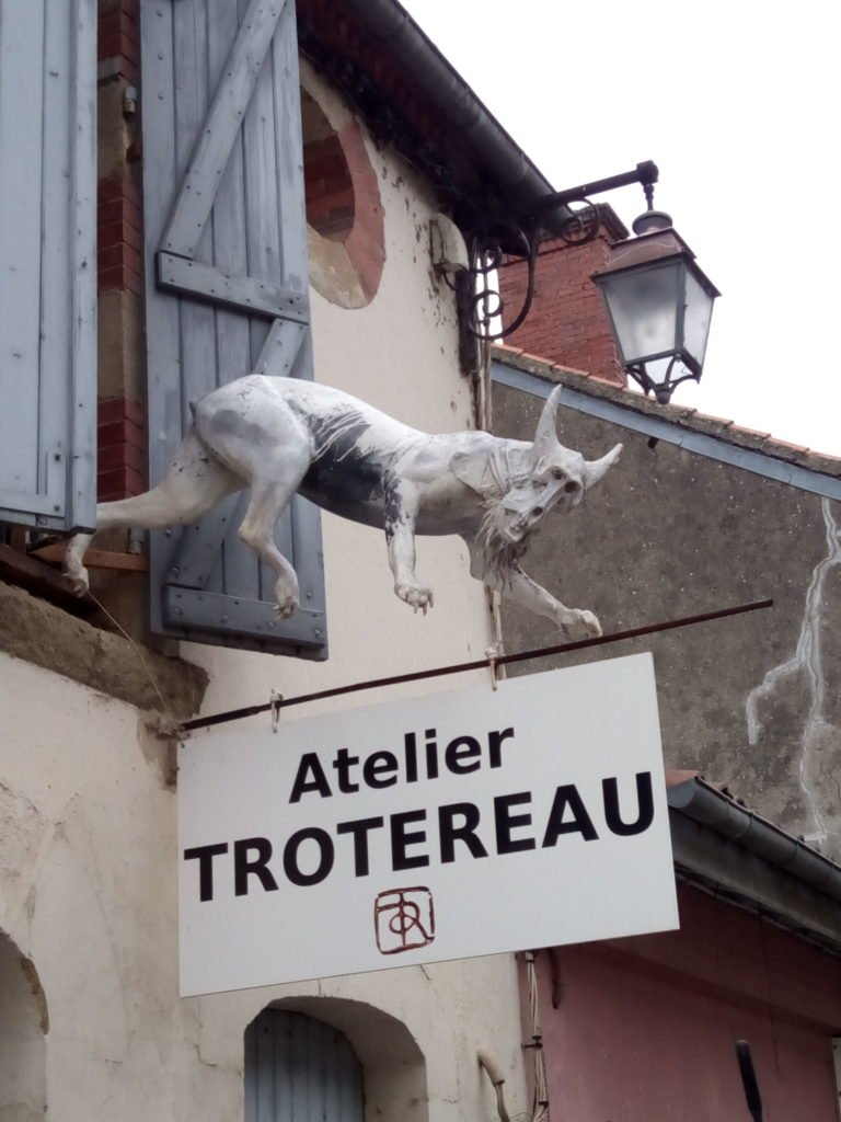 Taller de Remi Trotereau. Pintura y Escultura. Marciac