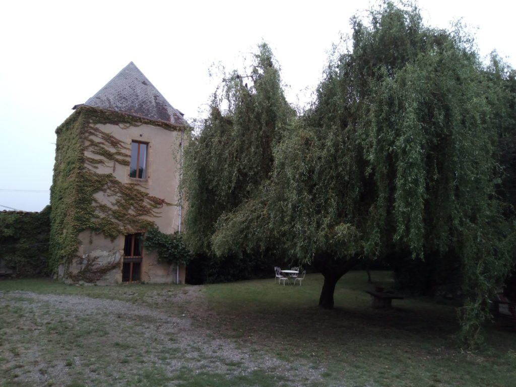 La casa del albergue, en Marciac