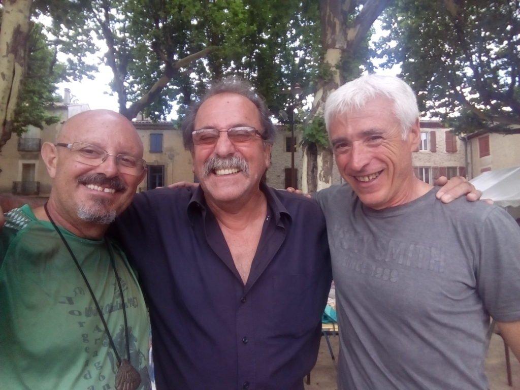 Mis amigos franceses Jorge y Juan Antonio. Saint Gervais sur Mare