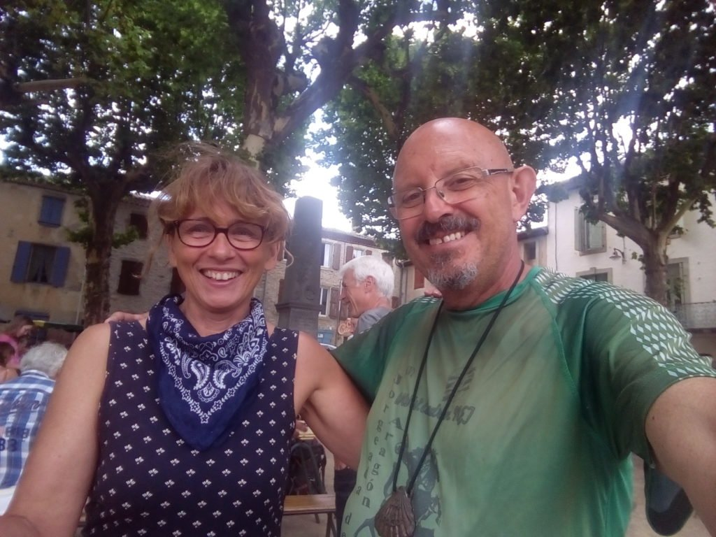 Con Eveline en Saint Gervais sur Mare