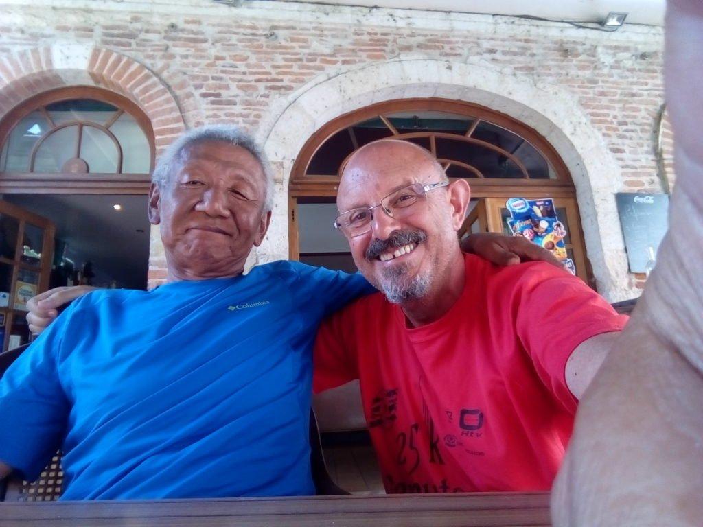 Joo and mi en Gimont