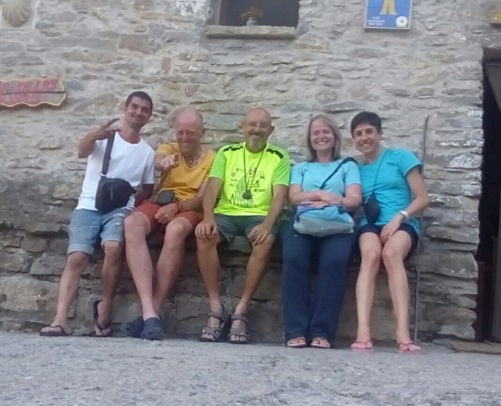 Juan Francisco, Marcell, Antonio, Olga, Francesca