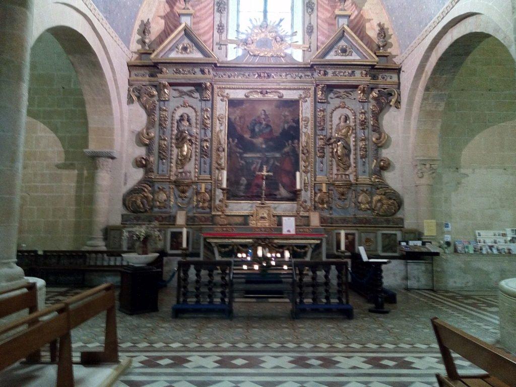 Altar de la Catedral de Nuestra Señora de Lescar