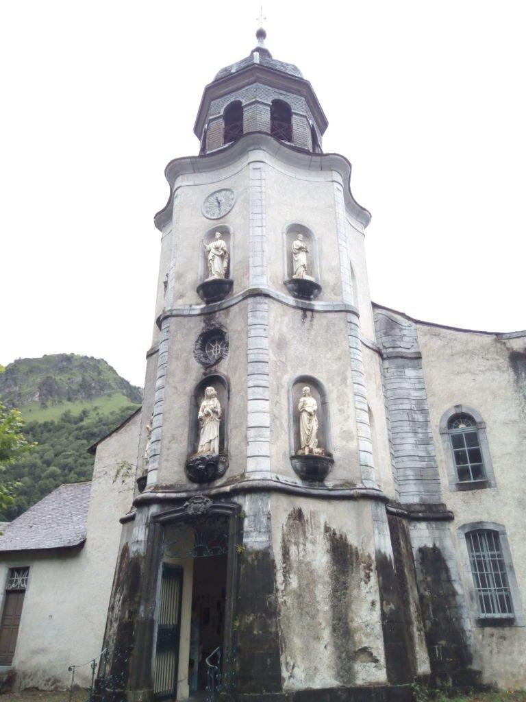 Église Notre Dame de la Pierre, Sarrance