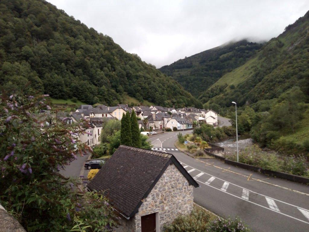 Vista de Sarrance