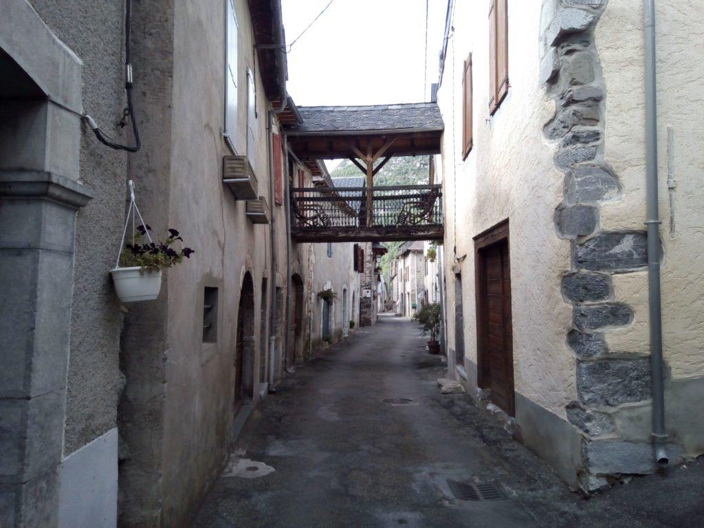 Una calle de Urdos