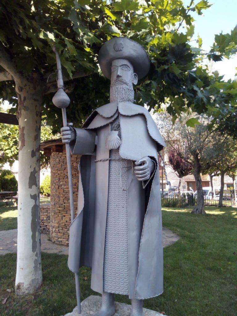 En la Plaza Mayor de Santa Cilia de Jaca