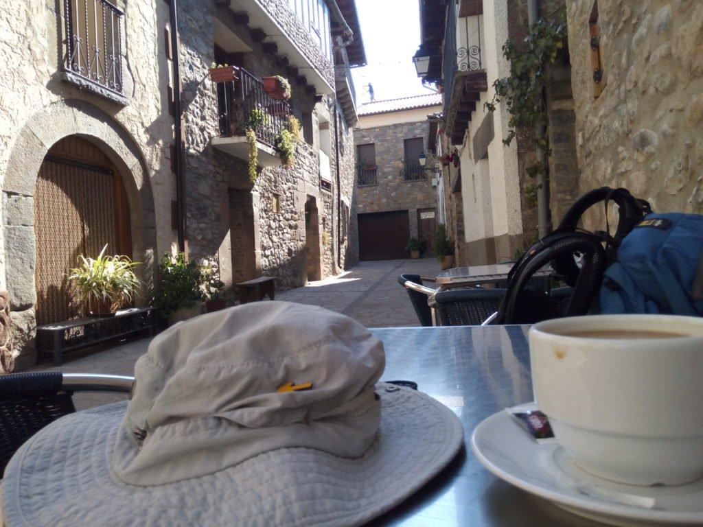 Desayunando en Santa Cilia de Jaca