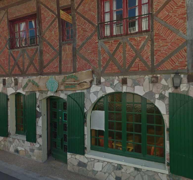 Albergue Chez Edna. Extraído con Google Maps