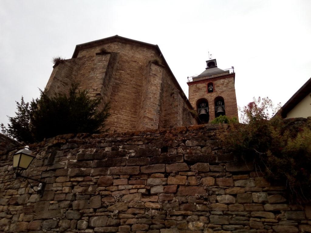Iglesia de San Martín, en Monreal