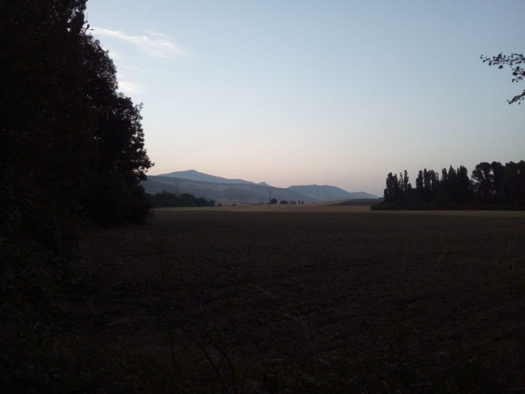 Esperando la salida del sol