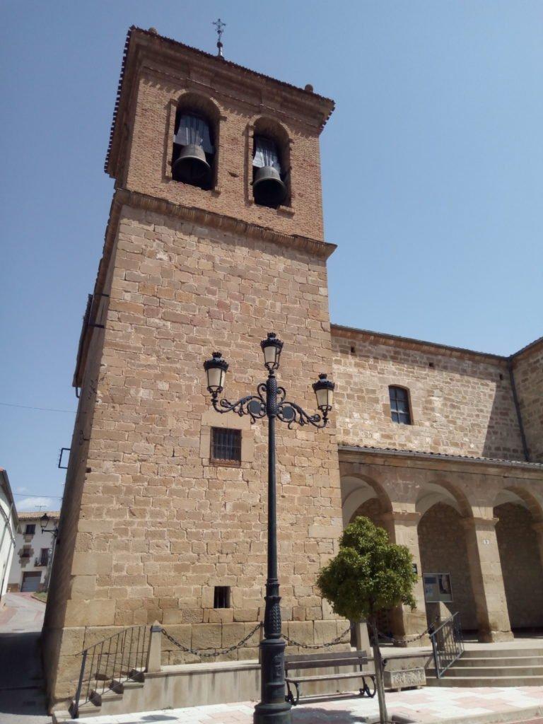 Iglesia de Santa María Magdalena, Enériz.