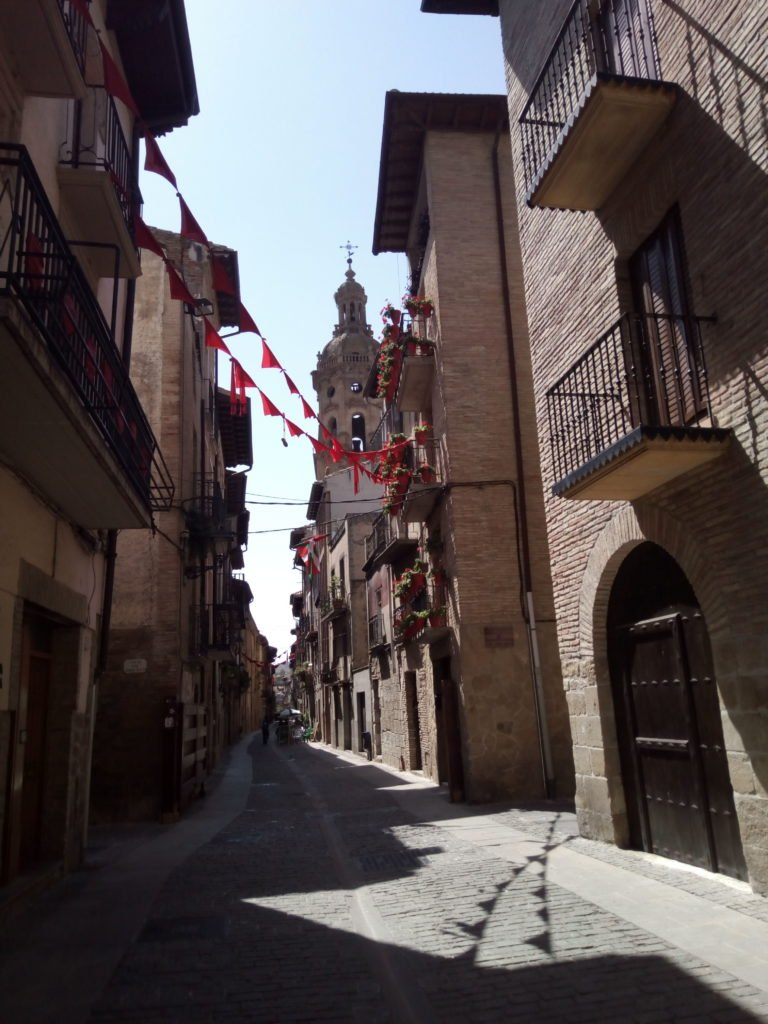 Calle Mayor de Puente la Reina