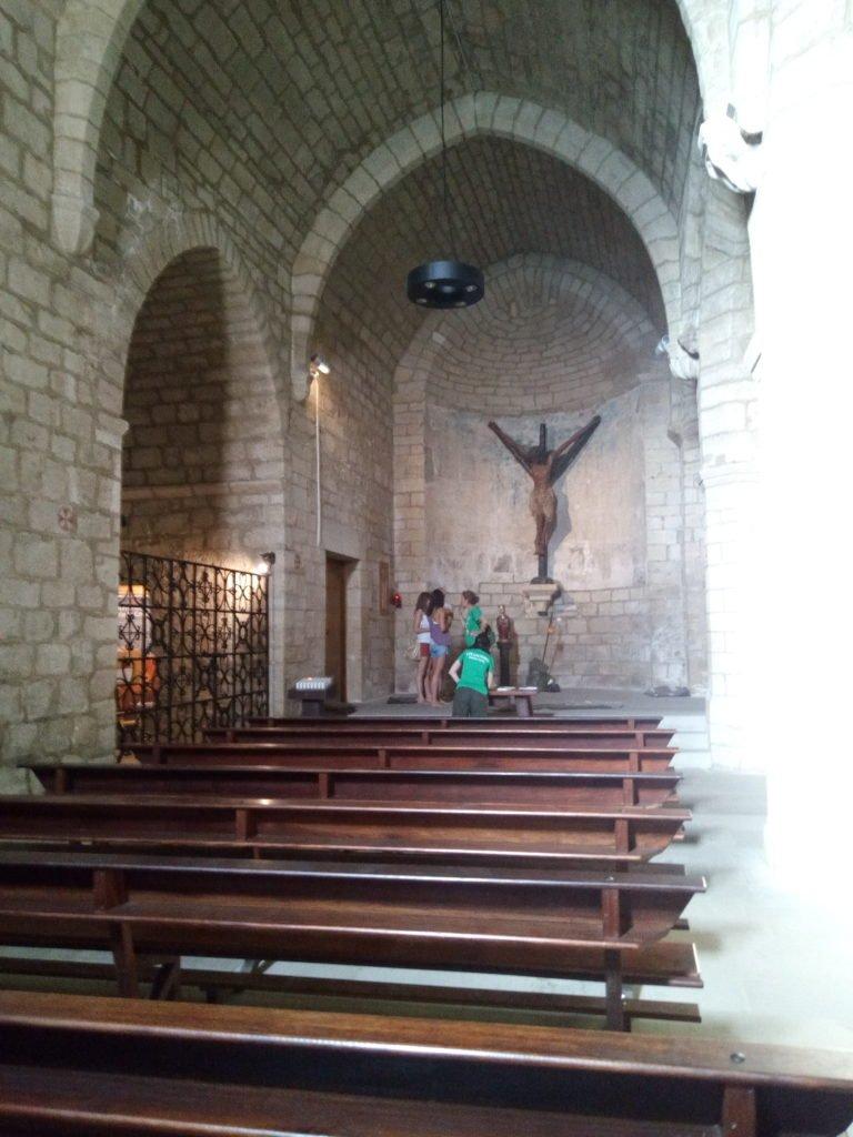 Interior de la Iglesia de Santiago, Puente la Reina