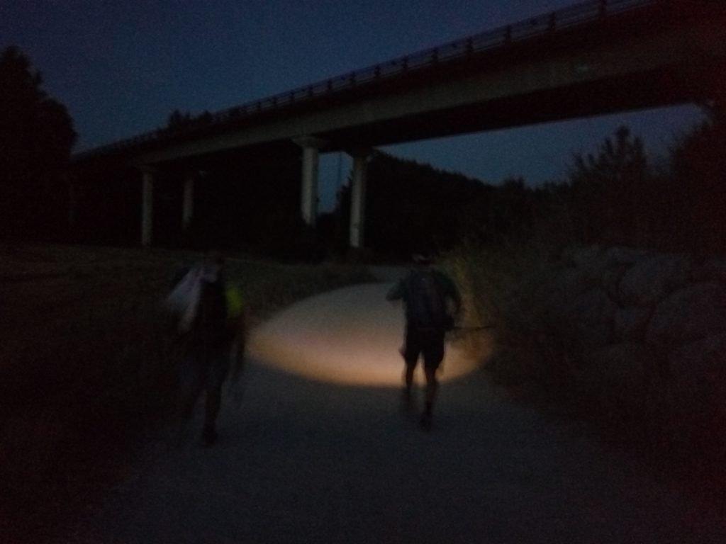 Caminando de noche