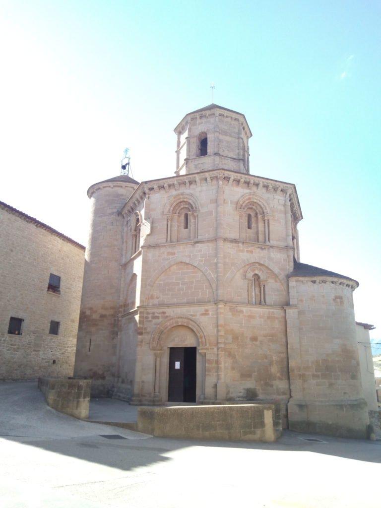 Iglesia del Santo Sepulcro, en Torres del Río