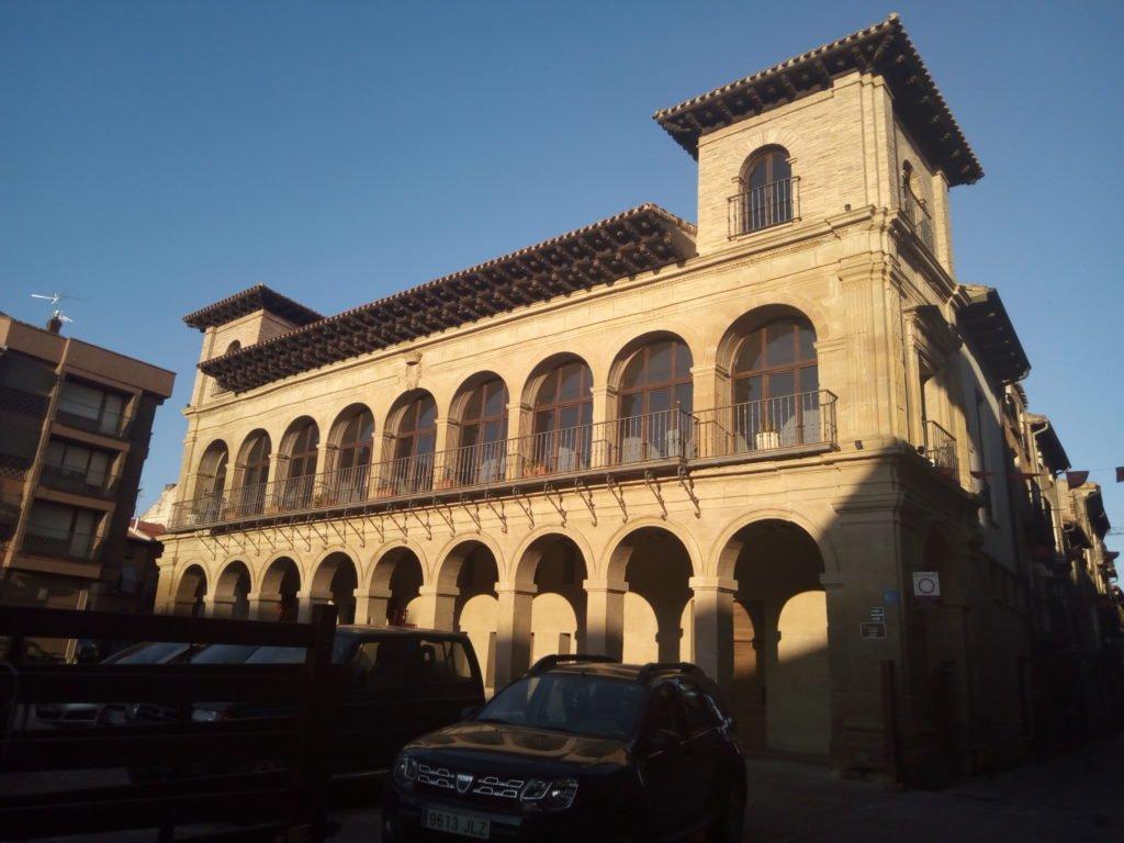 Plaza del Coso. Viana